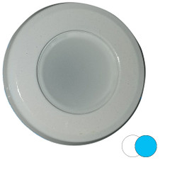 Shadow-Caster 2-Color Blue\/White Dimmable White Powder Coat Down Light [SCM-DL-BW]