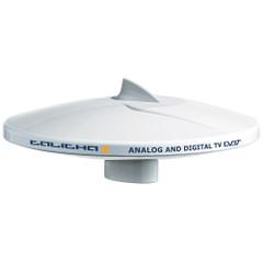 """Glomex 10"""" DVB-T2 TV Full HD Marine Omnidirectional Antenna w\/Automatic Gain Control [V9125AGCU]"""