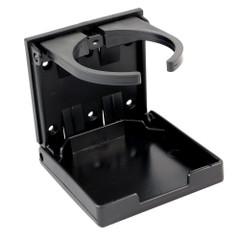 Innovative Lighting Adjustable Fold-Down Cup Holder - No Hardware - Black [7-AFD-BKANH]