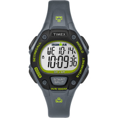 Timex IRONMAN Classic 30 Mid-Size Watch - Grey\/Lime\/Black [TW5M14000JV]