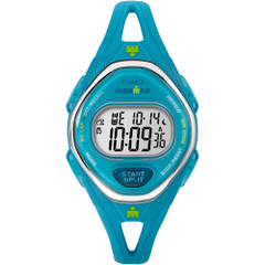 Timex IRONMAN Sleek 50 Mid-Size Silicone Watch - Turquoise [TW5M13500JV]