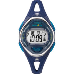 Timex IRONMAN Sleek 50 Mid-Size Silicone Watch - Navy [TW5M13600JV]