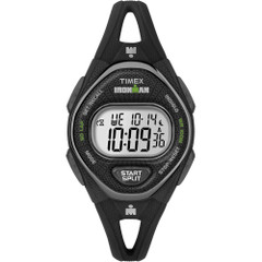 Timex IRONMAN Sleek 50 Mid-Size Silicone Watch - Black [TW5M10900JV]