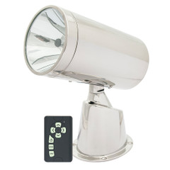 Marinco Wireless Stainless Steel Spotlight\/Floodlight w\/Remote [22150A]