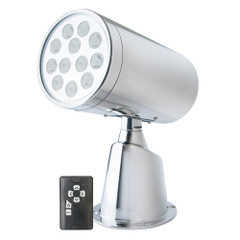 Marinco Wireless LED Stainless Steel Spotlight w\/Remote [23050A]