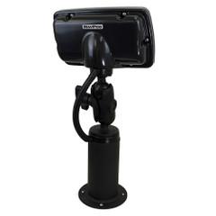 NavPod PedestalPod w/RAM Mount Pre-Cut f/Garmin echoMAP 72sv, 73sv, 74sv, 75sv, 72dv, 73dv, 74dv  75dv - Carbon Black [PEDRS4500-01-C]