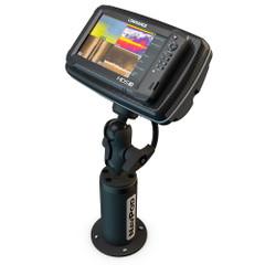 NavPod PedestalPod w\/RAM Mount Pre-Cut f\/Lowrance HDS-9 MFD Gen2 Touch  HDS-9 Gen3 - Carbon Black [PEDRS4600-08-C]