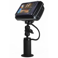 NavPod PedestalPod w\/RAM Mount Pre-Cut f\/Lowrance HDS-12 Gen2 Touch, HDS-12 Gen3  HDS Carbon 12 - Carbon Black [PEDRS5058-C]