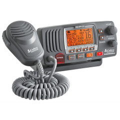 Cobra MR F77B Fixed Mount Class D VHF Radio - 25W - Gray [MR F77B GPS]