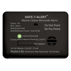 Safe-T-Alert 62 Series Carbon Monoxide Alarm w/Relay - 12V - 62-541-R-Marine - Surface Mount - Black [62-541-R-MARINE-BL]