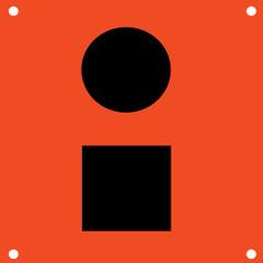Orion Orange Distress Flag [925]