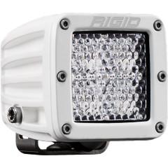 Rigid Industries D-Series PRO Flood Diffused - Single - White [601513]