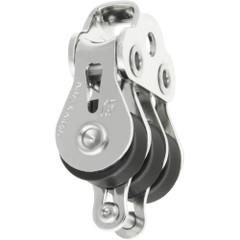 Ronstan Series 15 Ball Bearing Utility Block - Triple Block, Becket, Loop Head [RF15312]