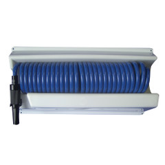 Whitecap 25 Blue Coiled Hose w\/Mounting Case [P-0443]