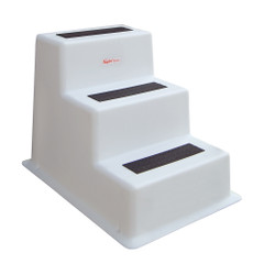Taylor Made StepSafe Dock Step - Triple Tread - White [47300]