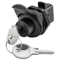 Whitecap Locking Push Button Latch [S-0232C]