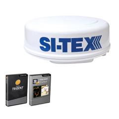 SI-TEX MDS-8R Radar Sensor Package Includes 2kW/24nm Radome Antenna, 33 Cable  P-Sea Software [MDS-8R]