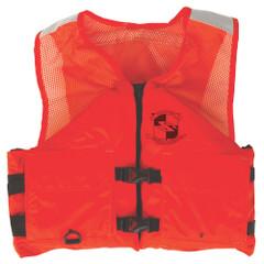 Stearns Work Zone Gear Life Vest - Orange - Small [2000011409]
