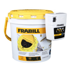 Frabill Dual Fish Bait Bucket w\/Clip-On Aerator [4823]
