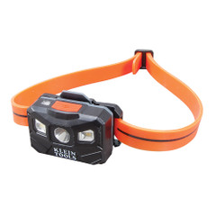 Klein Tools Rechargeable Rechargeable Auto-Off Headlamp w\/USB - Black\/Orange [56034]