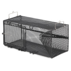 "Frabill Black Crawfish Rectangular Trap - 8"" x 8"" x 18"" [1267]"