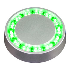 Lopolight Low Profile Deck Light - Green - Flush Mount [400-128]