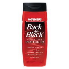 Mothers Back-To-Black Trim  Plastic Restorer - 12oz *Case of 6* [06112CASE]