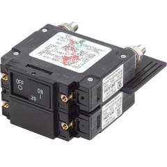 Blue Sea 7463 UL-489 Circuit Breaker - 20A Flat Rocker [7463]