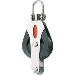 Ronstan Series 30 Utility Ball Bearing Block - Single, Becket, Swivel Shackle Head [RF30110]