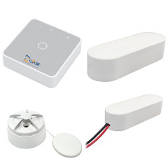 Glomex ZigBoat Starter Kit System - Gateway, Battery, Door\/Porthold  Flood Sensor [ZB101]