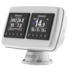 NavPod PP4503 PowerPod Pre-Cut f\/2-Simrad IS42\/BG Triton²\/AP44 Square Hole Instruments [PP4503]