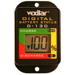 Vexilar Digital Battery Status Gauge [D-130]