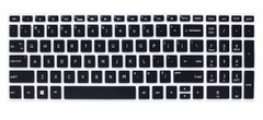 "Keyboard Protector Skin Cover for HP Pavilion 15.6"" 2018 New Series,HP Pavilion x360 15-BR075NR,HP Pavilion 15-BS 15-BW 15-CC 15-CB 15-CD,HP Envy x360 15M-BP 15M-BQ,17.3"" HP Envy 17M 17-BS - Black"