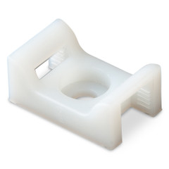 Ancor Cable Tie Mount - Natural - #8 Screw - 100 Pieces Per Bag [199232]