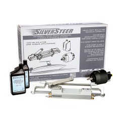 Uflex SilverSteer Universal Front Mount Outboard Hydraulic Tilt Steering System - 1500PSI V1 [SILVERSTEER 1TB]
