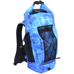 DryCASE Basin Moonwater 20 Liter Waterproof Sport Backpack [BP-20-MNW]