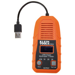 Klein Tools USB Digital Meter  Tester - USB-A (Type A) [ET910]