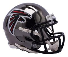 Atlanta Falcons Helmet Riddell Replica Mini Speed Style Chrome Alternate**Free Shipping**