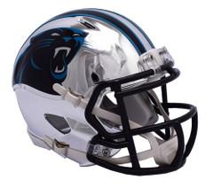 Carolina Panthers Helmet Riddell Replica Mini Speed Style Chrome Alternate**Free Shipping**