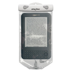 """Dry Pak Clear Tablet Case f/Kindle White/Grey - 6"""" x 10"""" [DPT-610W]"""