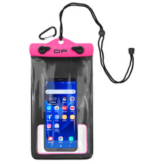 "Dry Pak Smart Phone\/GPS\/MP3 Case - Hot Pink - 5"" x 8"" [DP-58HP]"