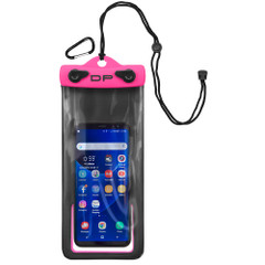 "Dry Pak Smart Phone\/GPS\/MP3 Case - Hot Pink - 4"" x 8"" [DP-48HP]"
