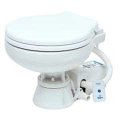 Albin Pump Marine Toilet Standard Electric EVO Compact Low - 12V [07-02-008]