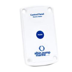 Albin Pump Marine Control Panel Standard Electric Toilet [07-66-023]