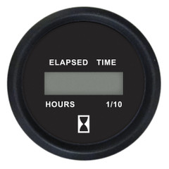 "Faria 2"" Digital Hourmeter Gauge - 12-32V - Euro Black [12835]"