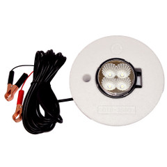 Hydro Glow FFL12 Floating Fish Light w\/20 Cord - LED - 12W - 12V - White [FFL12W]