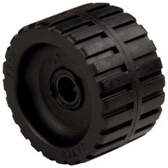 "C.E. Smith Ribbed Wobble Roller 5-3/4""ID w/Bushing Black [29533]"