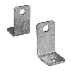 "C.E. Smith Side Angle ""L"" Bracket - Pair - Galvanized [10211G]"