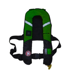 First Watch 38g Pro Inflatable PFD - Auto - Green [FW-38PROA-GN]
