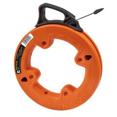 "Klein Tools 1\/4"" Wide Steel Fish Tape - 25 [56005]"